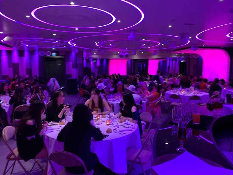 soirée EVJF au restaurant chippendale du duplex